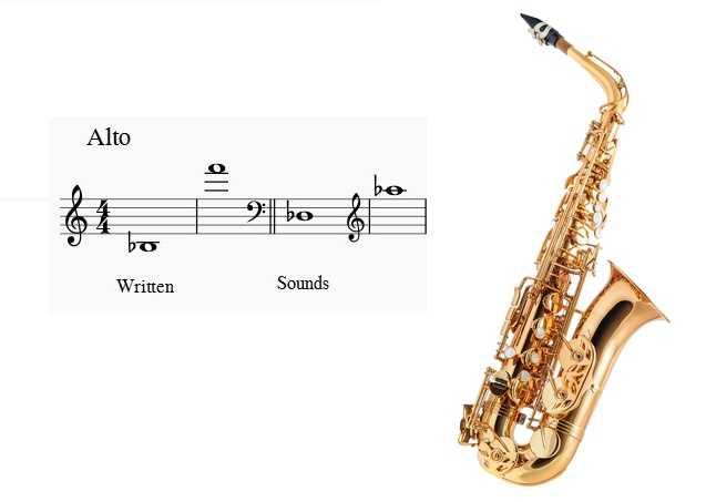 آلتو ساکسیفون saxophone ساز