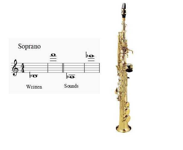 سوپرانو ساکسیفون saxophone ساز