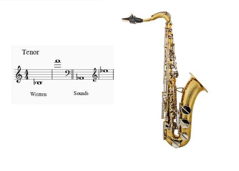 تنور ساکسیفون saxophone