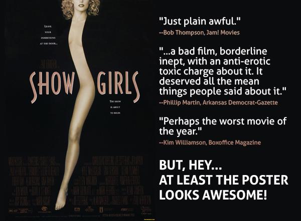 فیلم showgirls