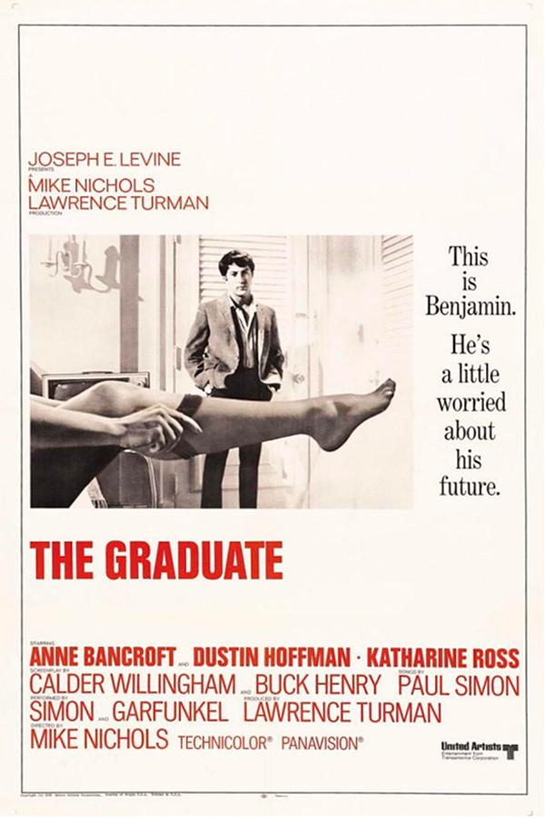 The Graduate پوستر فیلم فارغ التحصیل