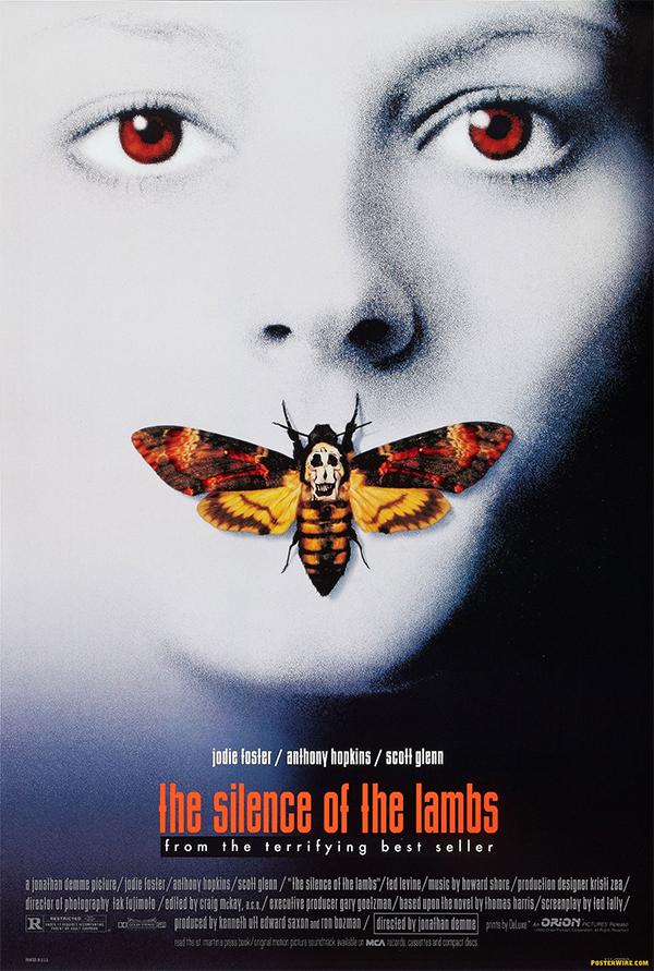 پوستر فیلم سکوت بره ها